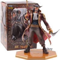 MegaHouse P.O.P DX Action Figure One Piece Excellent Model Series Gol D Roger 10th Anniversary PVC Collectible Model Toy
