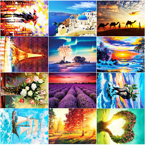 Mini 150 Piece Tube Beautiful Scenery Puzzles Toys for Children Adults Learning Education Brain Teaser Assemble Toy Games Jigsaw(China)