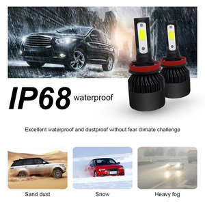 Image 5 - COOLFOX Super Car Headlights Turbo Luces Led H7 9005 9006 hb4 H1 H8 H11 H4 LED Canbus Zenon Bulbs Auto Lamp 12v 72w 36w 8000Lm
