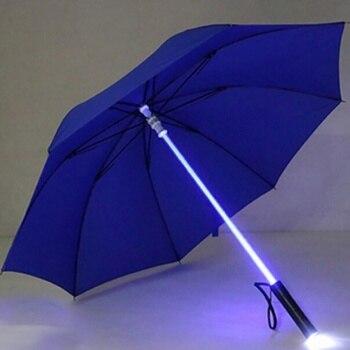 Led ışık Saber Işık Up şemsiye Lazer Kılıç Işık Up Golf şemsiye şaft