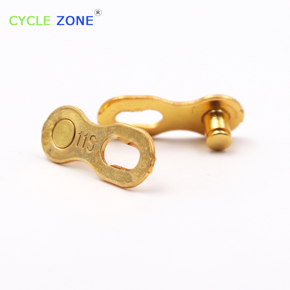 Silver Gold 11 Speed Missing Link 6S 7S 8S 9S 10S 11S Speed MTB Mountain  Bikes Bicycles Chains 95619a5ecfab