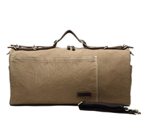New European And American Men's Travel Bag Men's Outdoor Large capacity Waterproof Canvas Bag Portable Messenger Bag Q345