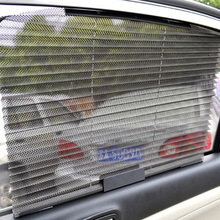 New Car Window Sunshade Curtain Black Side Rear Mesh Sun Visor Shield Solar Protection