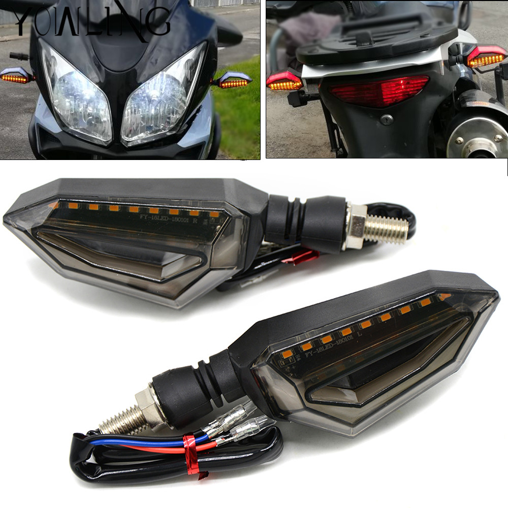 motorcycle turn signals led light flowing water flicker. Black Bedroom Furniture Sets. Home Design Ideas