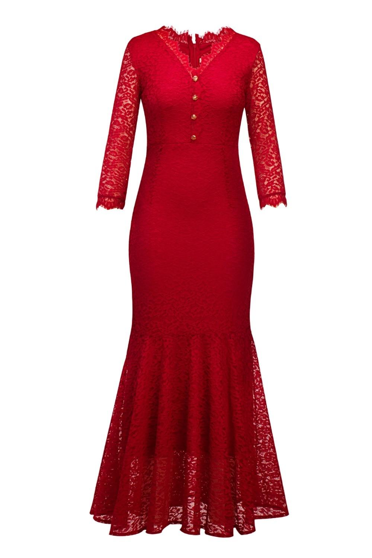 Hot new plus size formal dresses women's wedding party dress long online