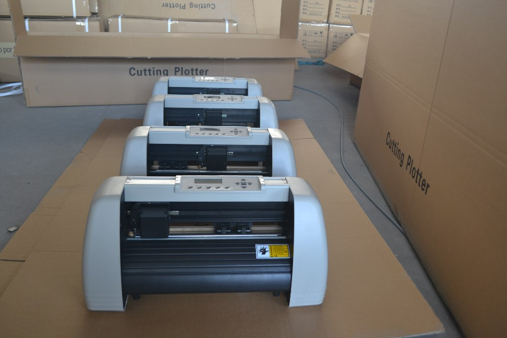 Vinyl cutting print plotter with artcut software shipping to Brazil