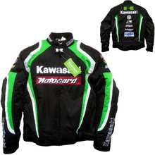 Winter Windproof warm motorcycle racing riding clothing for kawasaki men jaqueta motoqueiro jacket moto gp chaqueta hombre