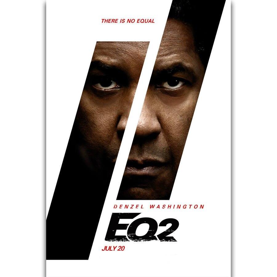 "The Equalizer 2 Denzel Washington Movie Poster Art Print 13x20/"" 24x36/"" 27x40/"""