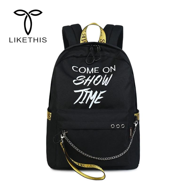 Casual Luminous Backpacks Travel Bag Mochila Feminina Super Quality Fashion Bags School  ...