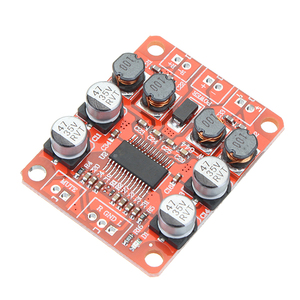 Image 4 - LEORY 5pcs TPA3110 DC 12V Dual Channel Stereo Digital Amplifier Board For 4/6/8/10 Ohm Speaker 24V 2x15W