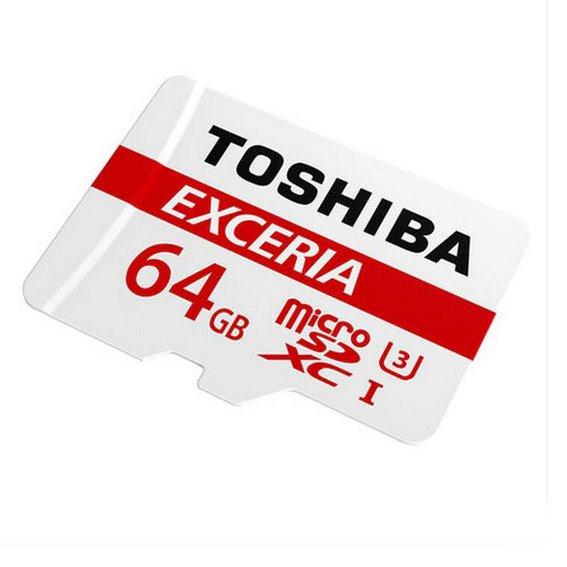 Licensed TOSHIBA Memory card 64GB micro sd Card Class10 UHS 3 Read speed 90MB S for