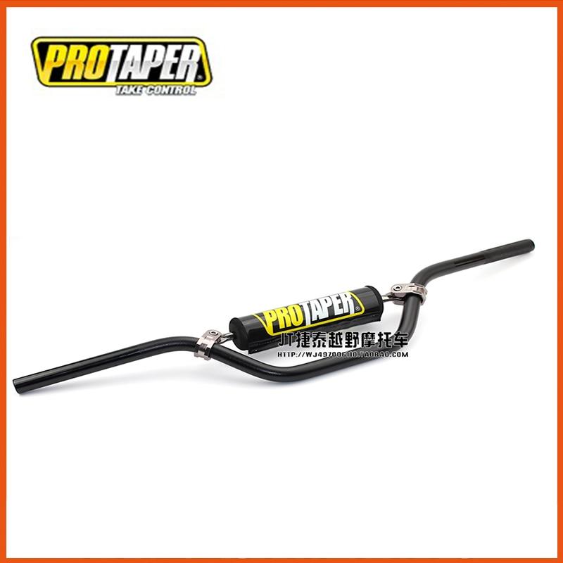 22mm 7/8 Motorcycle Pro Taper Fat Bar Kayo Taotao Buyang Dhz Pit Dirt Bike Handlebar Lower Bar With Handlebar Balancer Pad