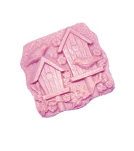Lovely bird house Silicone Molds Hanmade Craft Soap Molding tool DIY Bathing Salt mould