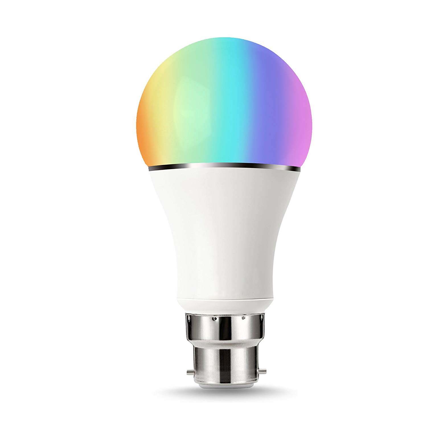 Smart Led Bulb B22 Rgbw Colour Changing 60w Equivalent