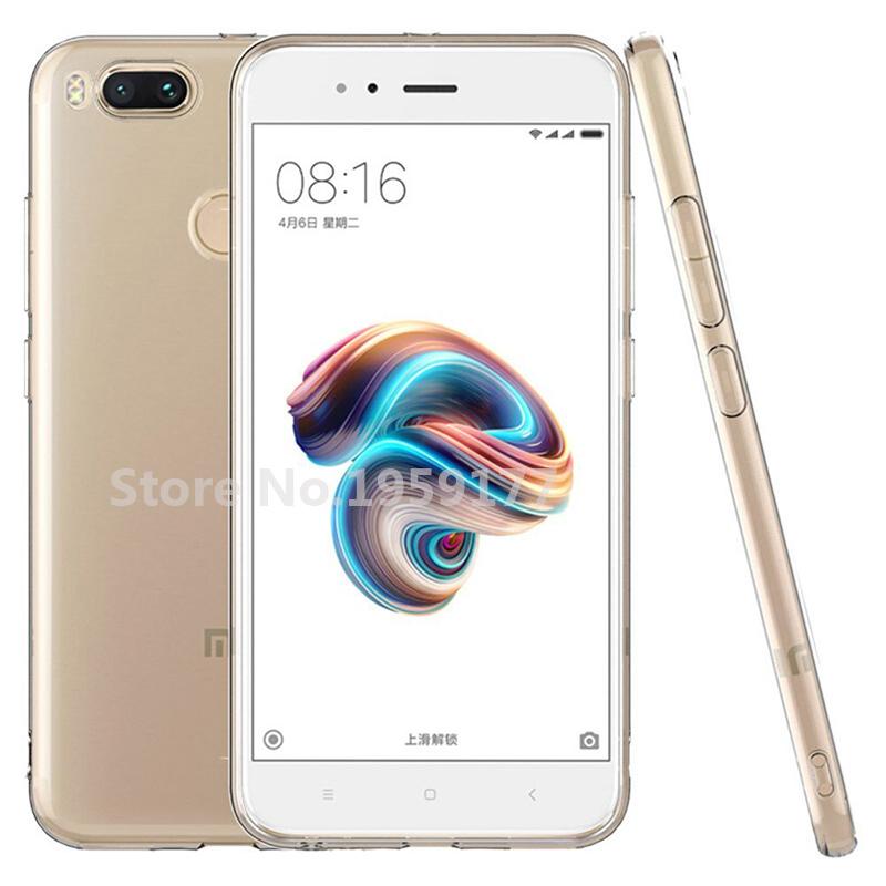 MODAZONGYE Soft Transparent Case Xiaomi Mi A1 Case Cover Silicone Back Cover Phone Case For Xiaomi Mi A1 MiA1 5.5 inch (6)