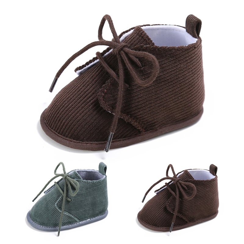 newborn Non-slip First Walker Wholesale 0-1 year old autumn and winter boy and girl baby step shoes soft bottom Toddler shoes
