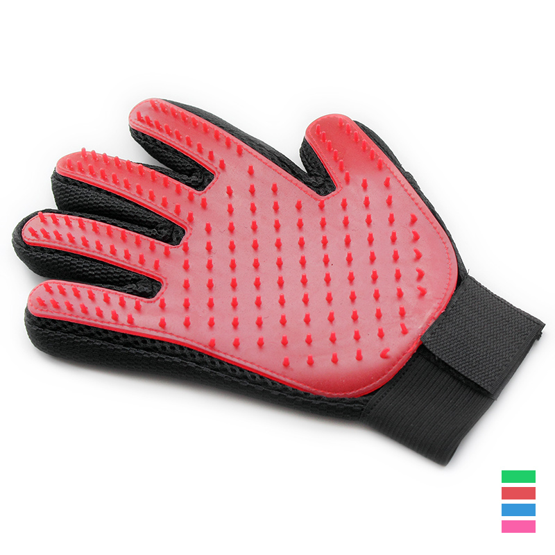 Dog Cat Massage Clean Hair Gloves Pet Massage Brush Dogs Massages Comb  6062023 Pets Grooming Supplies