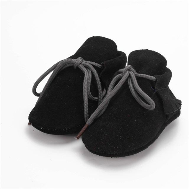 1 Pair Send Suede Leather Baby Boot Newborn Girls Shoes Indoor Slippers Soft Sole Baby Moccasins 0-24M