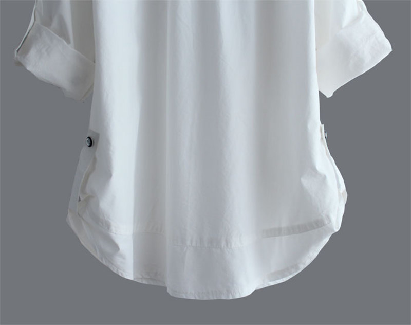 Sleeve Biktble White Womens 17