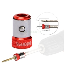 """Новое магнитное кольцо 1/"""" 6,35 мм металлический сильный намагничивающий винт электрическая отвертка Philips Bits"""