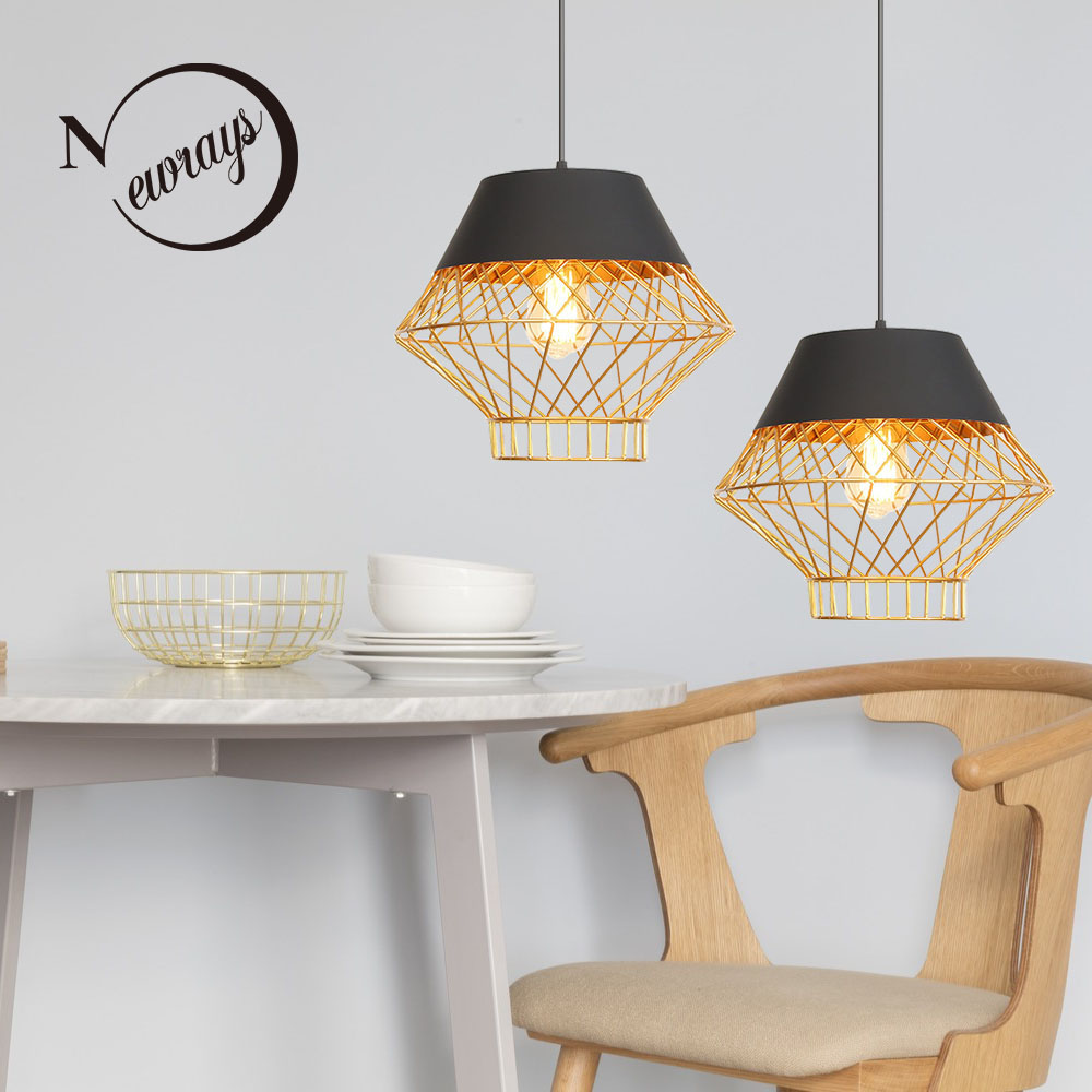 Retro industrial wind iron E27 personality pendant lights for living room bedroom bedside study hotel room cafe clothing store Retro industrial wind iron E27 personality pendant lights for living room bedroom bedside study hotel room cafe clothing store