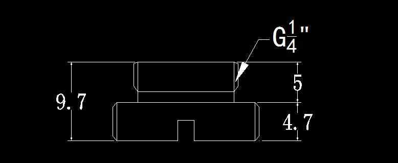 """Bykski G1/4 """"ручная затяжка воды стоп система водяного охлаждения уплотнительный замок Компьютерные аксессуары установка использовать монету для затягивания"""