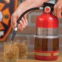 2000 Ml Weinkaraffe Brandbekämpfung Getränkespender Kreative Feuerlöscher Getränkespender Flüssigkeit Wasserspender Maschine
