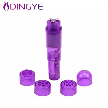 Dingye wibratory wodoodporna Mini Bullet tanie Dildo wibrator dla kobiet tanie i dobre opinie Plastikowe 108*25mm DYT124 Plastic as photo 1pc AAA battery