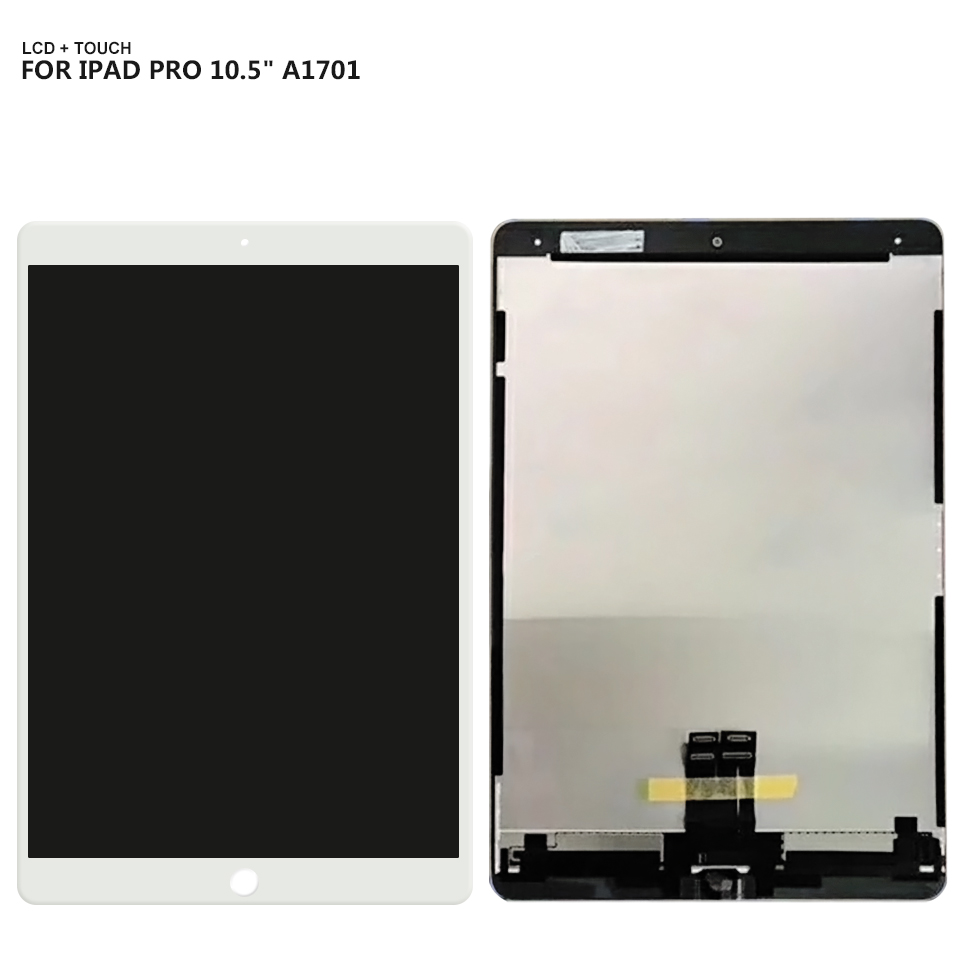 For ipad Pro 10.5 LCD Display Screen Touch Panel Glass Assembly For A1709 A1701 Replacement fashion thicken soft coffee color carpet floor living room area rug mat bedroom home carpets doormat washable size 80 160 3 cm page 2
