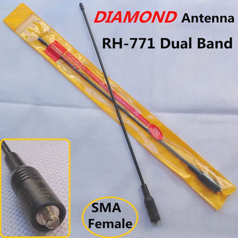 SMA Female Antenna for Baofeng Puxing Wouxun Kenwood Dual Band Antenna RH771