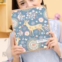 Baby Photo Album Scrapbook Diy Grande Black Love Anniversary Gift Wedding Family Photo Albums Children Recipe Book ABY001