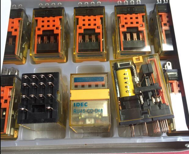 NEW relay RU4S-CD D48 DC48V RU4S-CD-D48 RU4SCDD48 DC48V 48V 48VDC DIP14 2PCS/LOT 你好 法语4 学生用书 配cd rom光盘
