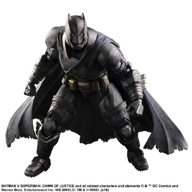 NEW hot 25cm Armor Batman v Superman Dawn of Justice Enhanced version action figure toys collection Christmas gift