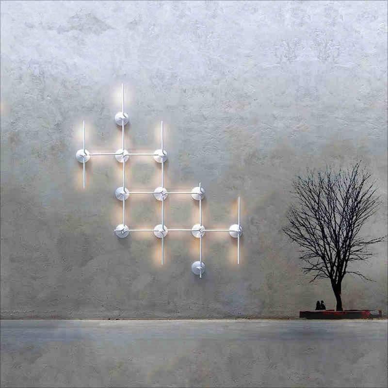 Modern minimalist style design features elegant hallway wall lamp LED wall lamp Free shipping free shipping 60015s modern vintage style elegant design metal pendant lamp light