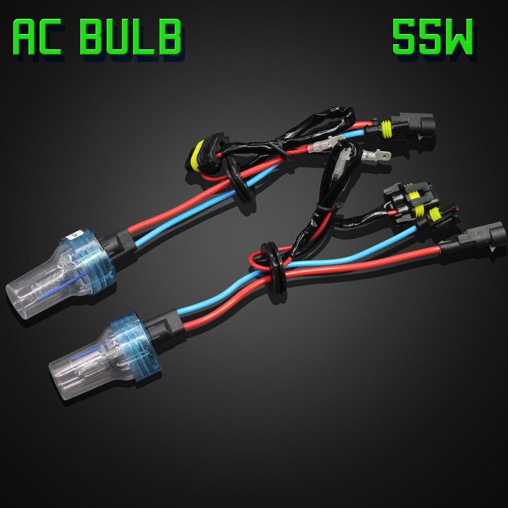 Image 5 - Cawanerl H1 H3 H7 H8 H11 9005 HB3 9006 HB4 881 Car Xenon Light HID Kit AC Ballast + Bulb 55W 3000K 8000K For Headlight Fog Light-in Car Headlight Bulbs(Xenon) from Automobiles & Motorcycles