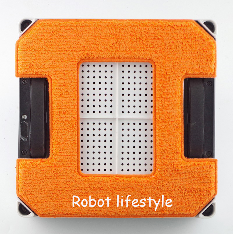Robot window cleaner grey clean cloth 3pcs orange clean cloth 3pcs per set for model X6P in Vacuum Cleaner Parts from Home Appliances