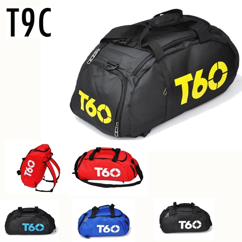 Новый Для мужчин спортивная сумка леди Для женщин Фитнес Путешествия Сумочка Открытый рюкзак с отдельное пространство для Обувь SAC de Спорт
