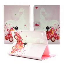 Air 2 New style Stunning Rhinestone Magic Lady PU Leather-based stand flip protecting cowl Case for ipad Apple iPad 6 Air 2