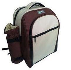Freezer Cooler Bag & Thermal Bag Shoulder Lunch Bag Refrigerator Waterproof Bolsa Termica With Wine Pocket & 8 Ice Packs