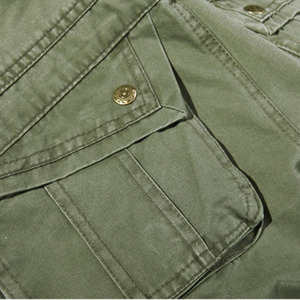 Image 4 - 2019 New Men Cargo Pants army green big pockets decoration mens Casual trousers easy wash male autumn army pants plus size 42