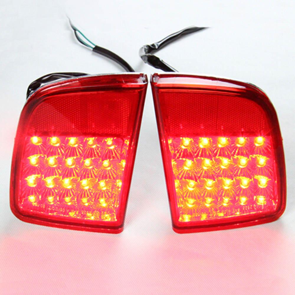 LED Externa taillights rear bumper fog lights lamp assembly for lexus LX570 LX 570 toyota LAND