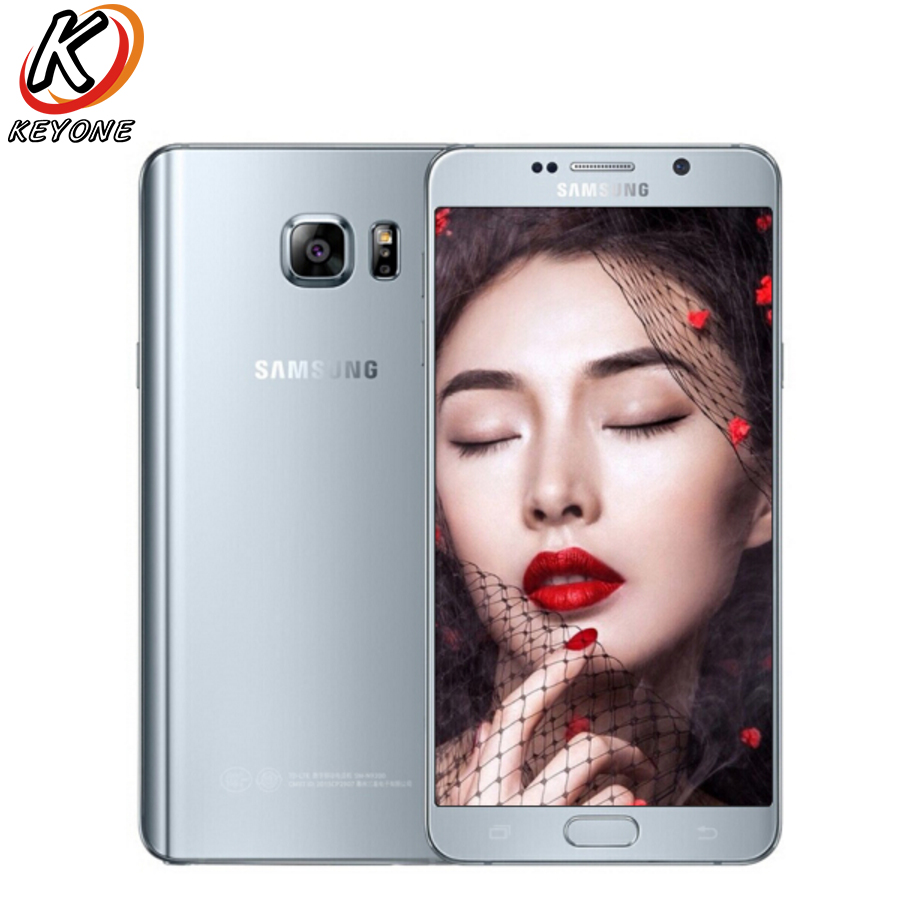 Original New Samsung Galaxy note 5 note5 N9200 4G LTE Mobile Phone 5.7 OctaCore 4GB RAM 32GB ROM 16MP Camera Android SmartPhone