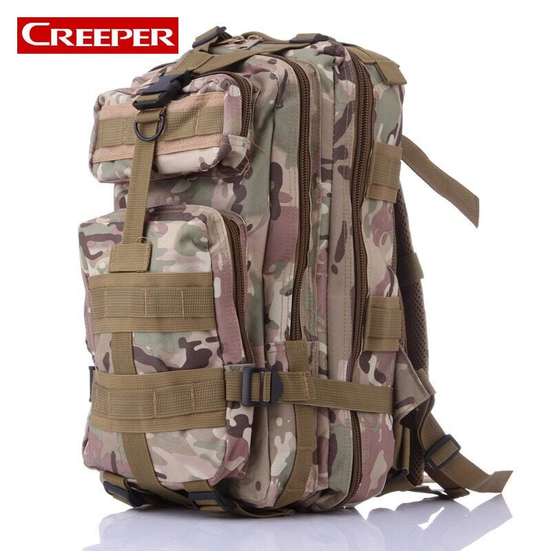 New Men Outdoor Backpack Military Tactical Camouflage Caming Travel Hiking Backpacks Waterproof Bag For Fishing Molle Army Bags women and men 40l waterproof backpacks travel bag top quality army backpack mountain bag hiking backpack free shipping