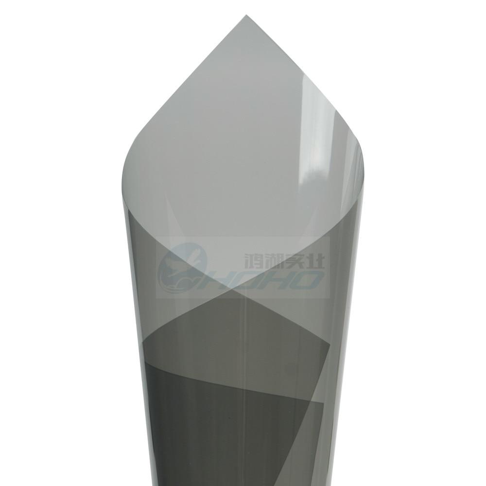 Insulate Car Windows: 1.52mx0.5m Thicken 4mil Light Grey Uv+insulation Car