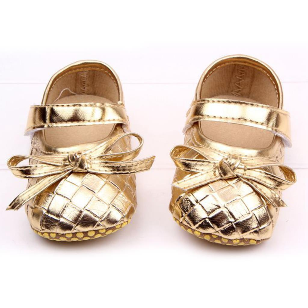 2015 New Baby Shoes 3 Colors Rhombus Lattice Pattern Soft Bottom Baby Girl Shoes PU First Walkers Wholesale 11 cm 12cm 13 cm