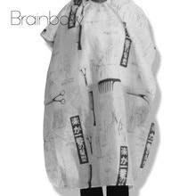 0fd9a47dc Brainbow tijera peine impreso peluquería abrigo capa impermeable peluquería  corte Corte cubierta tela envoltura