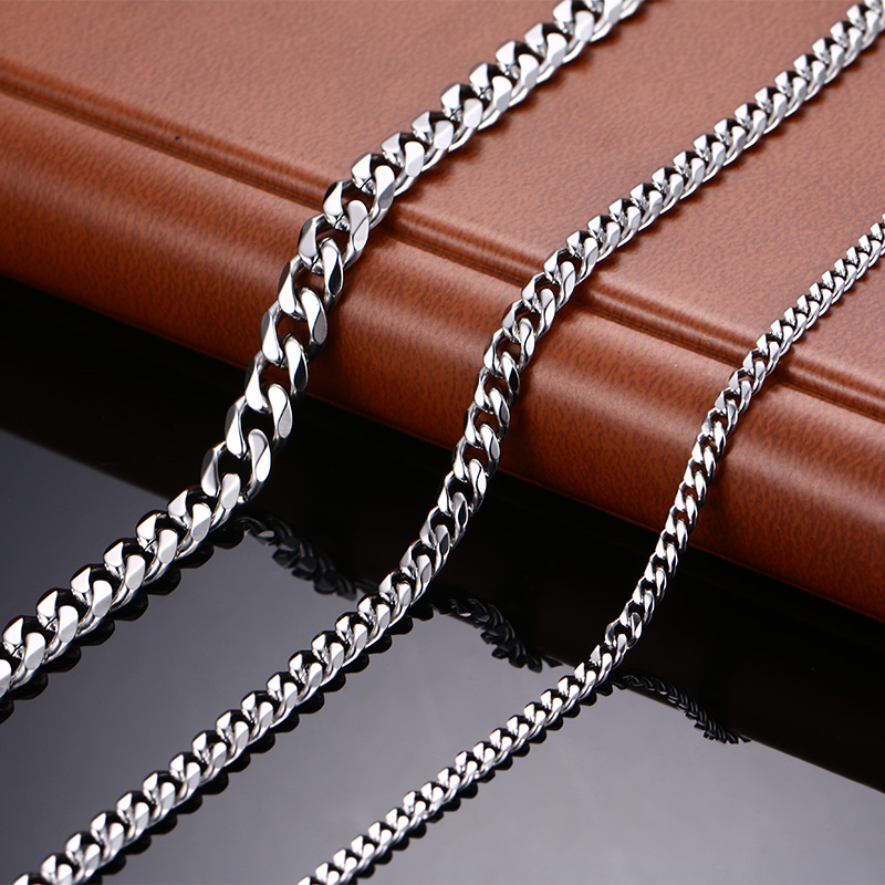 Fashionable Stainless Steel Colorful Long Chain