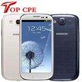 Entsperrt samsung galaxy S3 i9300 original EU version Handy Quad core 4. zoll 3G 8MP WIFI GSM Android GPS 16GB ROM