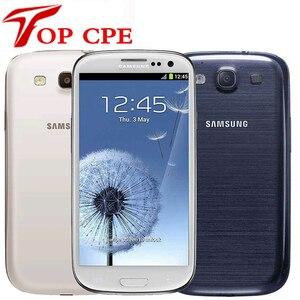 Unlocked samsung galaxy S3 i9300 original EU version Mobile Phone Quad core 4.inch 3G 8MP WIFI GSM Android GPS 16GB ROM