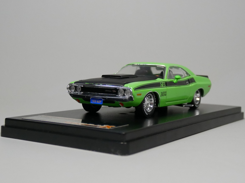 PREMIUM X 1:43 DODGE CHALLENGER T/A 1970 (Green) Diecast model car цена